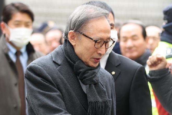 Cựu Tổng thống Lee Myung-bak. (Ảnh: Yonhap)