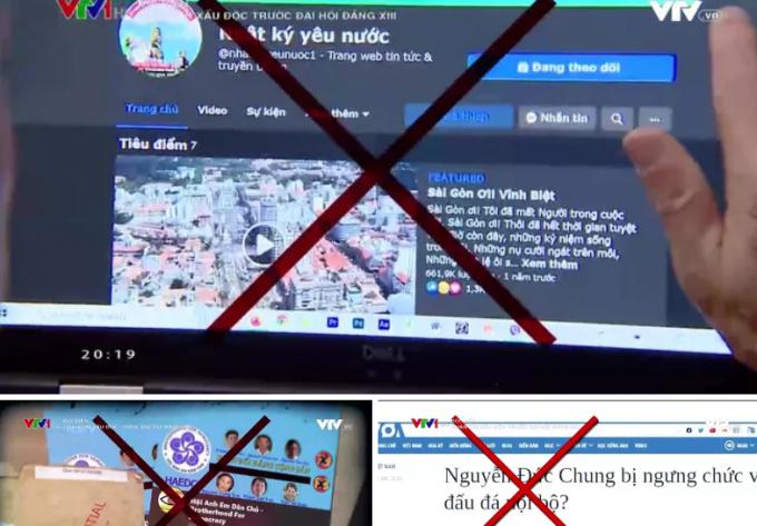 Một loạt các tài khoản trên mạng xã hội thường xuyên đăng tải các thông tin xấu độc