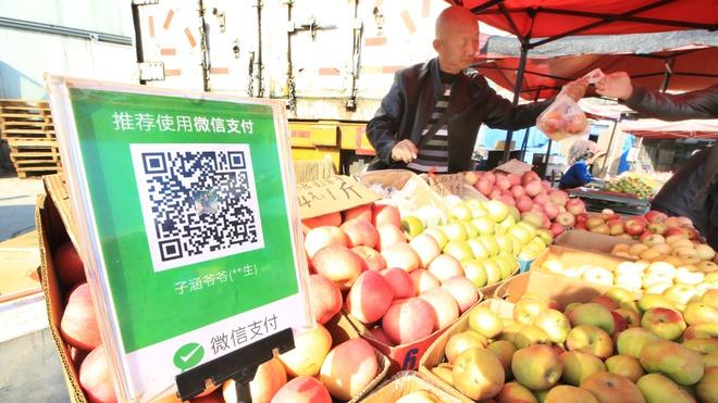 Ở đâu Trung Quốc cũng thanh toán bằng mã QR.