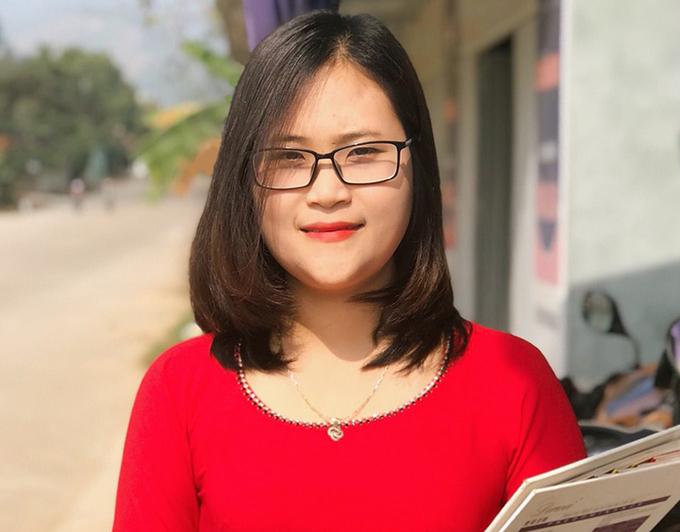 Cô Hà Ánh Phượng.