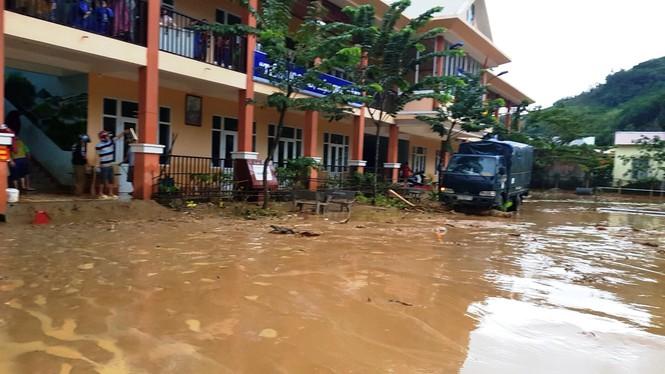 Trường Tiểu học Trà Leng.