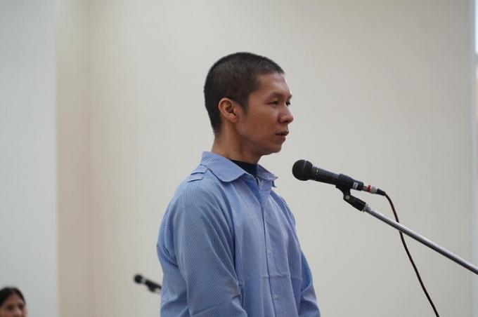 Bị cáo Nguyễn Minh Tuấn.