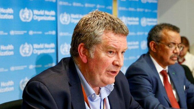 Giám đốc chương trình khẩn cấp của WHO, Mike Ryan.