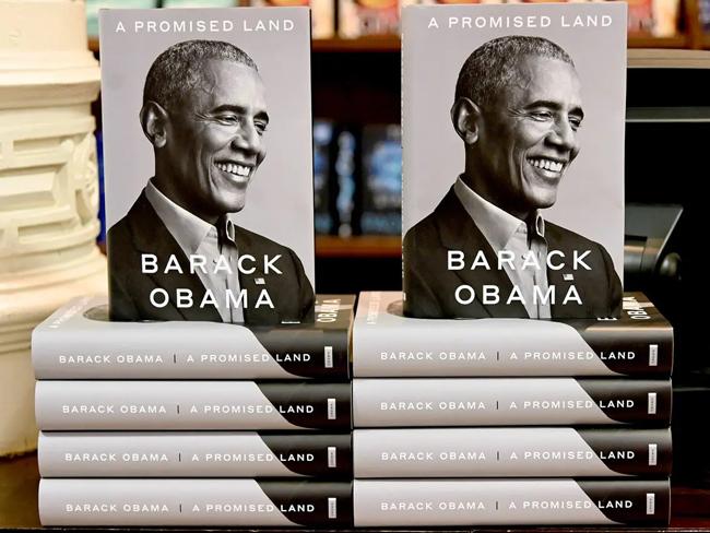 Cuốn hồi kýA Promised Landcủa cựu Tổng thống Barack Obama Ảnh:BI.