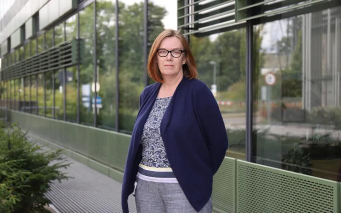 Giáo sư Sarah Gilbert tại Đại học Oxford. Ảnh: Telegraph