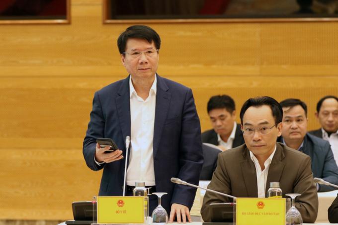 Thứ trưởng Bộ Y tế Trương Quốc Cường
