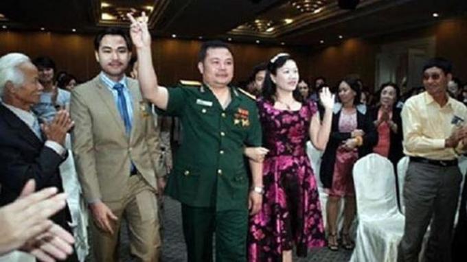 Hình ảnh Lê Xuân Giang mặc quân phục làm nhiều người lầm tưởng đây là công ty của Bộ Quốc phòng