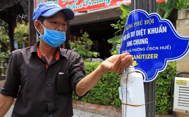 Thừa Thiên - Huế tạm dừng tiếp nhận các đoàn cứu trợ lụt, bão đến từ vùng dịch