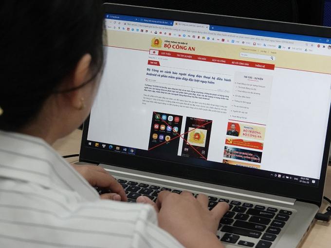 Việt Nam đứng thứ 9 trên toàn cầu về mức độ bị phần mềm gián