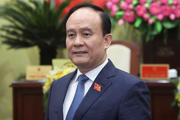 Tân Chủ tịch HĐND TP Hà Nội Nguyễn Ngọc Tuấn. Ảnh: Phạm Hải