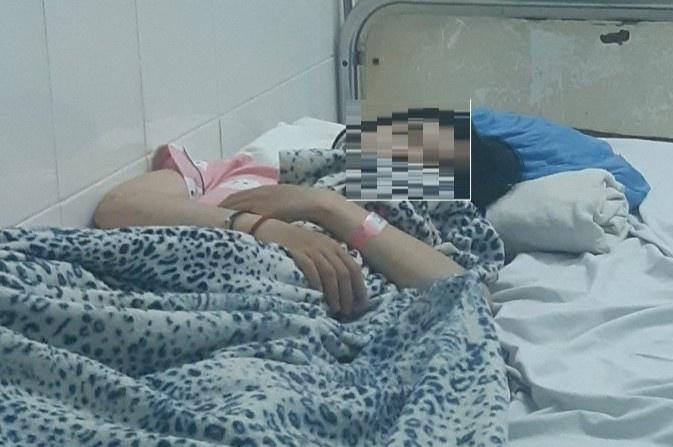 Nữ sinh nghi tự tử ở An Giang. Ảnh: M.N.