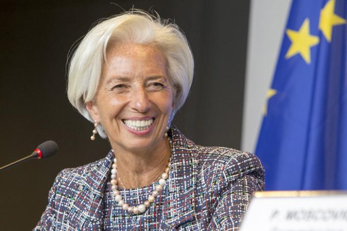 Bà Christine Lagarde đứng thứ 2 trong danh sách