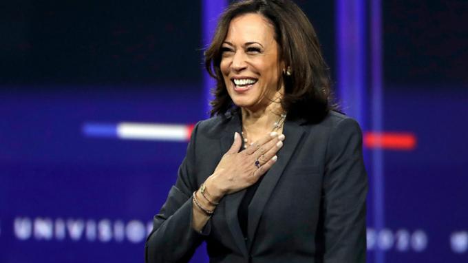 Bà Kamala Harris giữ vị trí thứ 3 trong danh sách. Ảnh: Associated Press