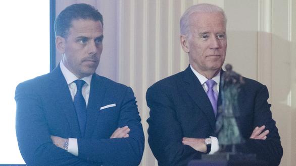 Hunter Biden (trái) là con trai thứ hai của tổng thống đắc cử Joe Bide