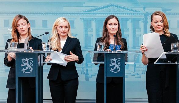 Những 'nữ tướng' U35 đang thống lĩnh chính trường Phần Lan- Ảnh: GETTY IMAGES
