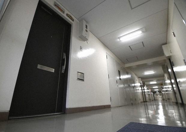 Căn hộ tại khu vực Minato, Osaka - nơi phát hiện thi thể của 2 mẹ con xấu số