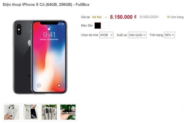 iPhone hàng bãi giá thấp hơn máy xách tay nhưng chất lượng khó đảm bảo