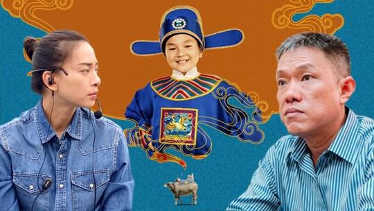 Nhà sản xuấtNgô Thanh Vân(trái) và họa sỹ Lê Linh (phải). (Ảnh: Ngô Thanh Vân)