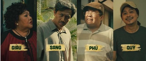 'Trấn Thành' vào vai ông Ba Sang chuyên lo chuyện bao đồng trong bộ tứ anh em cùng sinh sống ở khu lao động nghèo. (Ảnh: Video first look)