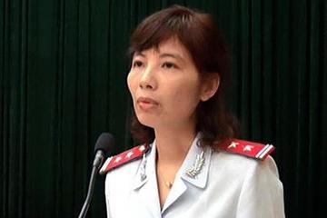 Bị can Nguyễn Thị Kim Anh. Ảnh: Cổng thông tin điện tử Vĩnh Tường.m_anh