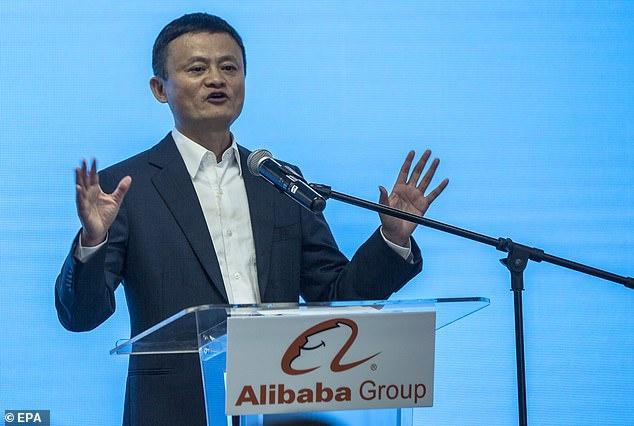 Tỷ phú Jack Ma.