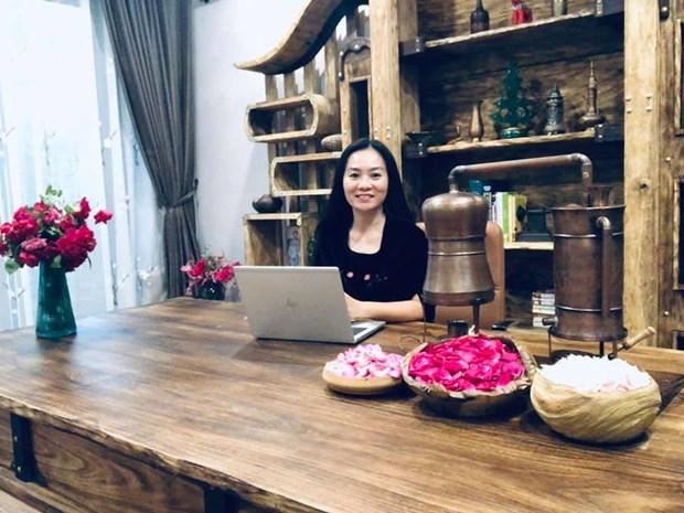 Bà Bùi Thị Thanh Hằng.