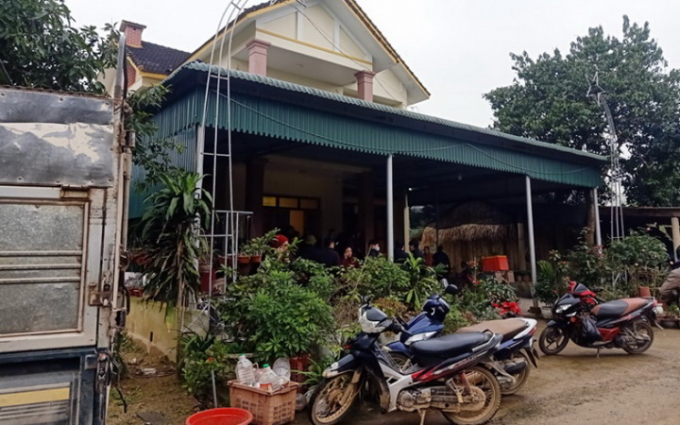 Ngôi nhà xảy ra vụngộ độc khí thankhi sưởi ấm làm hai học sinh thương vong. (Nguồn: nhandan.com.vn)
