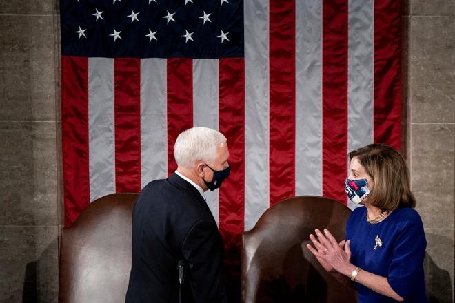 Chủ tịch Hạ viện Nancy Pelosi muốn Phó tổng thống Mike Pence sử dụng Tu chính án thứ 25 vì đó là cách nhanh nhất để tước quyền tổng thống của ông Trump