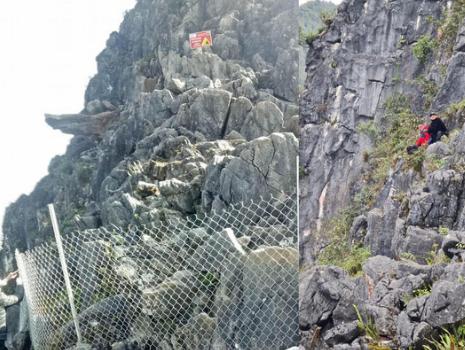Khu vực mỏm đá