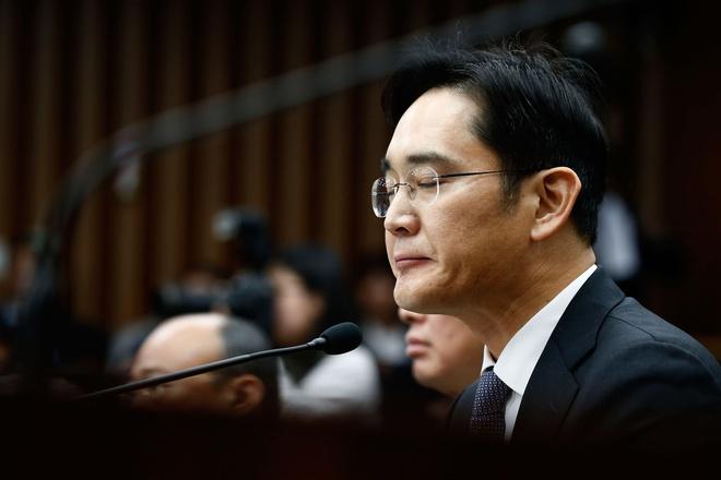 Lee Jae-yong, phó Chủ tịch Tập đoàn Samsung Electronics. Ảnh: Getty.