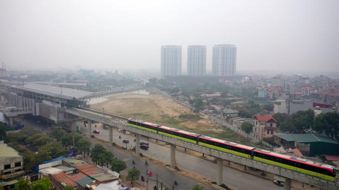 Tham quan đoàn tàu Nhổn - ga Hà Nội