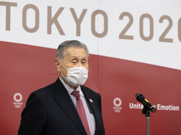 """Ông Yoshiro Mori tuyên bố từ chức sau những sức ép từ dư luận vì đã có phát biểu có tính chất """"coi thường"""" phụ nữ. (Ảnh: AFP)"""