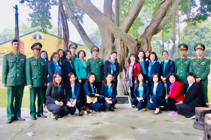 Hội Nữ trí thức Việt Nam tham gia Tết trồng cây Xuân Tân Sửu tại Trung đoàn Thủ đô