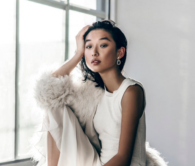 Chân dung tổng biên tập Vogue Trung Quốc. Ảnh: ELLE.