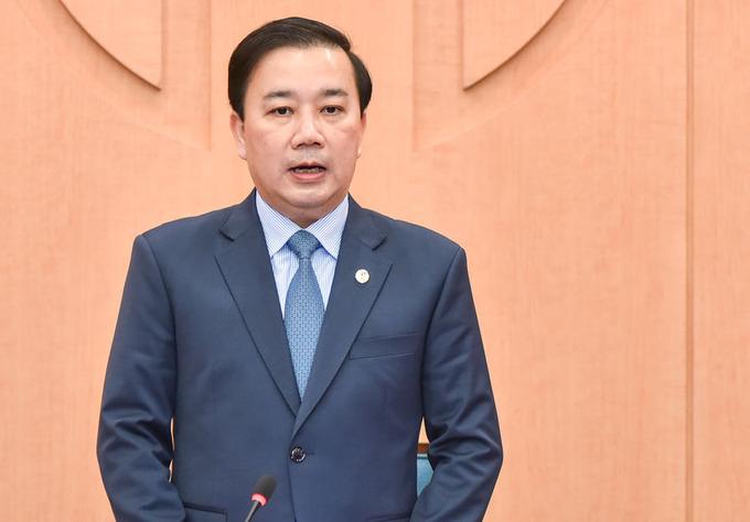 Ông Chử Xuân Dũng, Phó chủ tịch UBND TP Hà Nội, Trưởng ban chỉ đạo phòng, chống dịch Covid 19 thành phố. Ảnh: Hữu Nguyên.
