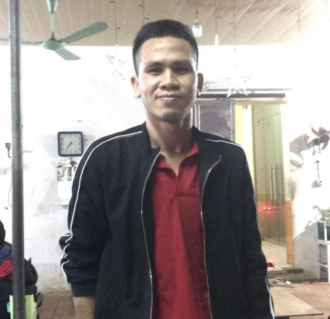 Anh Nguyễn Ngọc Mạnh - người đỡ được cháu bé