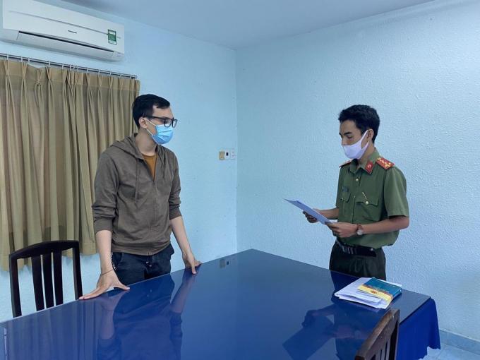 Dương Tấn Hậu (BN 1342) vừa bị Cơ quan An ninh điều tra Công an TP.HCM đề nghị truy tố.