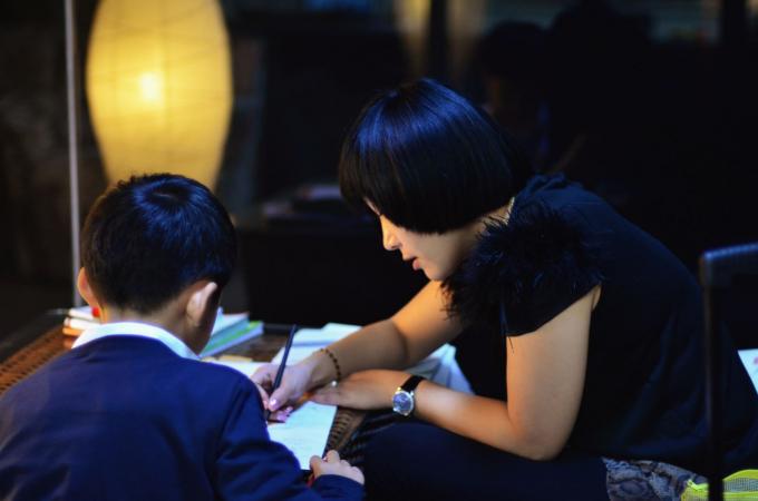Quy định giảm tải bài tập về nhà cho trẻ nhỏ dường như rơi vào quên lãng tại Trung Quốc. Ảnh: Getty Images