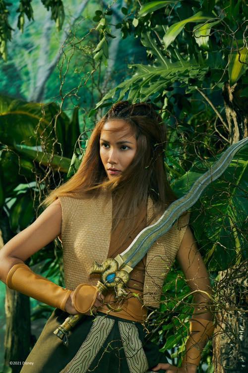 Hoa hậu H'Hen Niê hóa thân thành nàng công chúa Đông Nam Á đầu tiên của Disney
