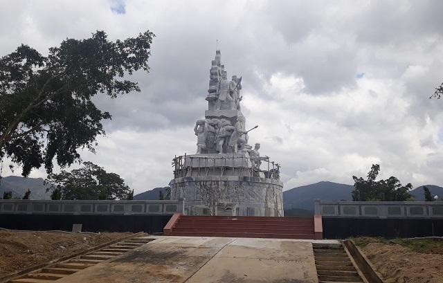 Công trình tượng đài Khởi nghĩa Vĩnh Thạnh từng gây xôn xao đã hoàn thành