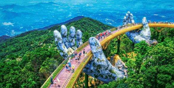 Cầu Vàng ở Đà Nẵng được Daily Mail xếp đầu danh sách