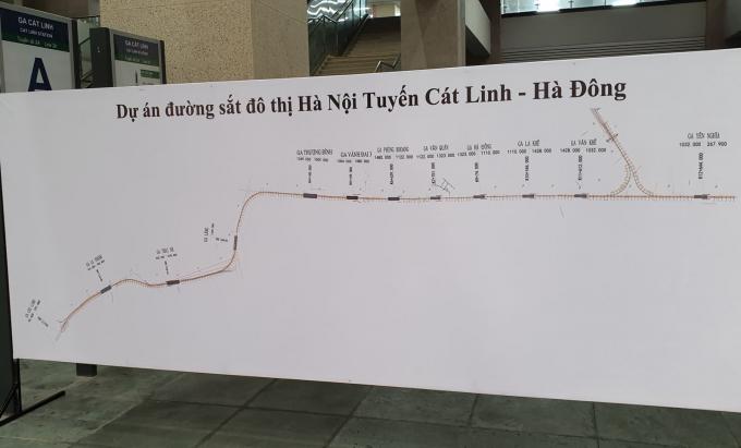 Bắt đầu quy trình bàn giao tuyến đường sắt Cát Linh-Hà Đông cho TP Hà Nội