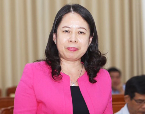 Bí thư Tỉnh ủy An Giang Võ Thị Ánh Xuân.