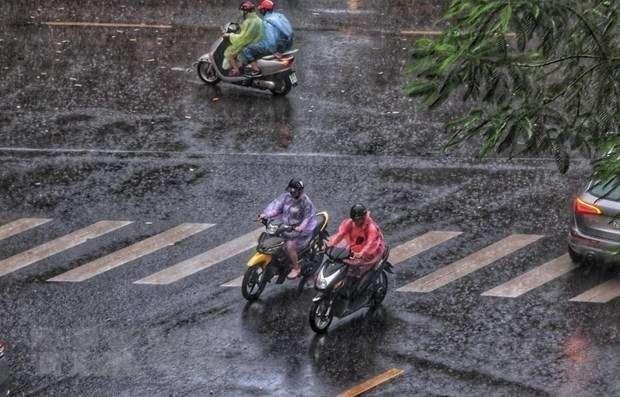 Ngày 13/4, khu vực Bắc Bộ có mưa vài nơi. (Ảnh minh họa. Nguồn: TTXVN)
