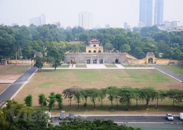 Khu trung tâm Hoàng thành Thăng Long. (Nguồn: Vietnam+)