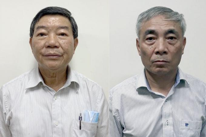 Bị can Nguyễn Quốc Anh (trái) và Nguyễn Ngọc Hiền. Ảnh: Bộ Công an.