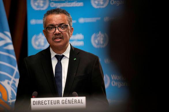 Tổng giám đốc WHO Tedros Adhanom - Ảnh: REUTERS