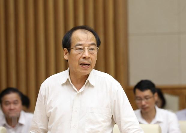 Phó giáo sư Trần Đắc Phu - Cố vấn cao cấp Trung tâm đáp ứng khẩn cấp sự kiện y tế công cộng Việt Nam, nguyên Cục trưởng Cục Y tế dự phòng. (Ảnh: Văn Điệp/TTXVN)
