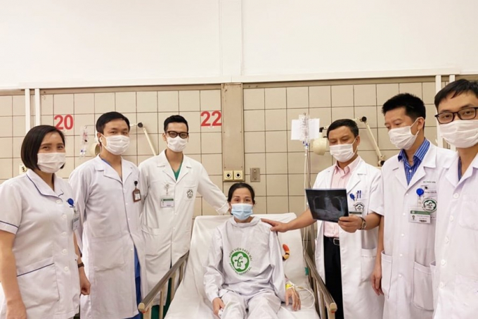 Bệnh nhân đang hồi phục, dần trở lại cuộc sống bình thường sau 3 tháng điều trị.