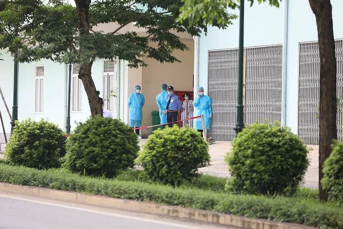 Hà Nội xét nghiệm Covid-19 người từng đến Bệnh viện K